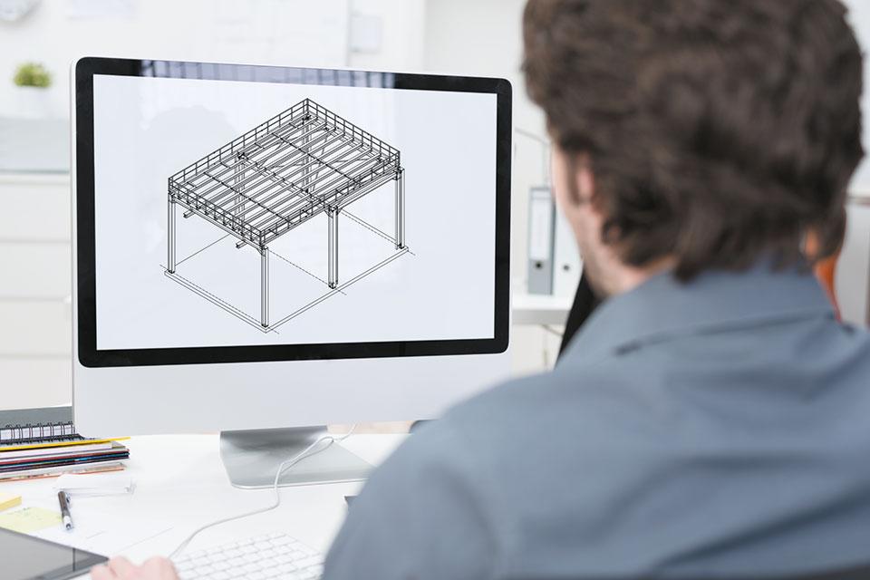 Mendener-Stahlbau-Konstruktion
